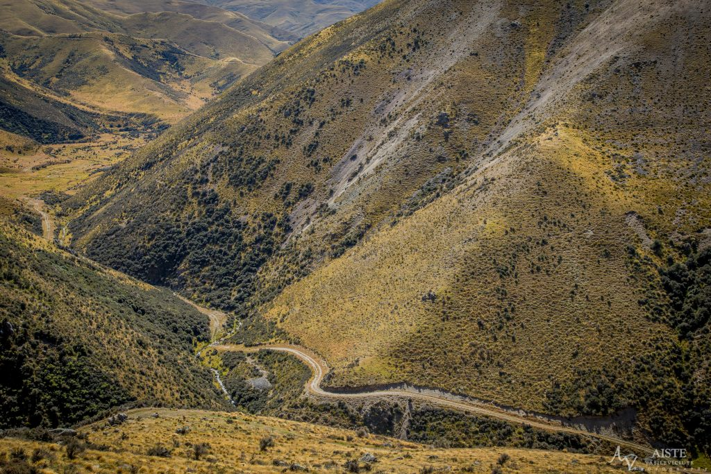 Back country roads in NZ