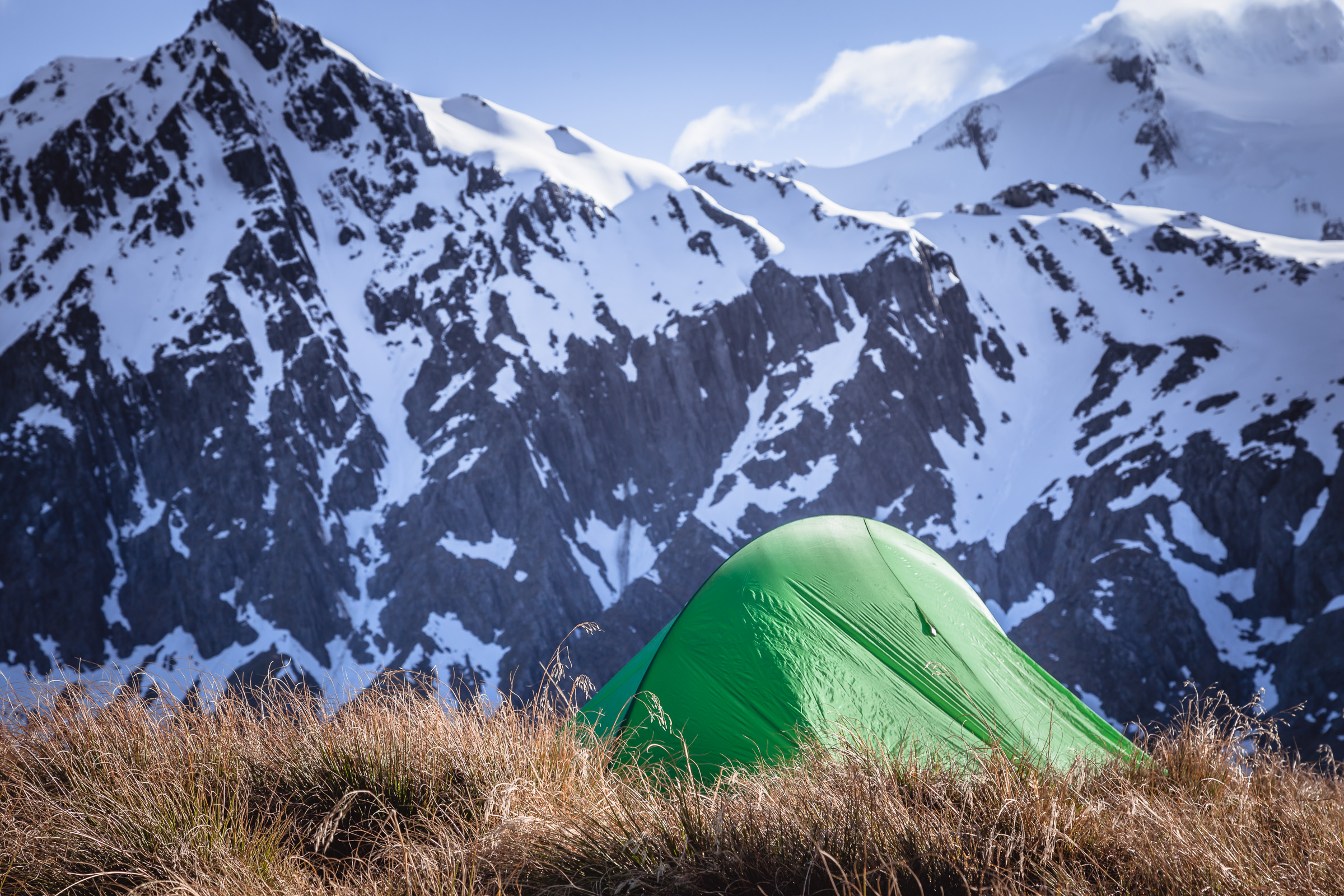 Camping in New Zealand Wilderness
