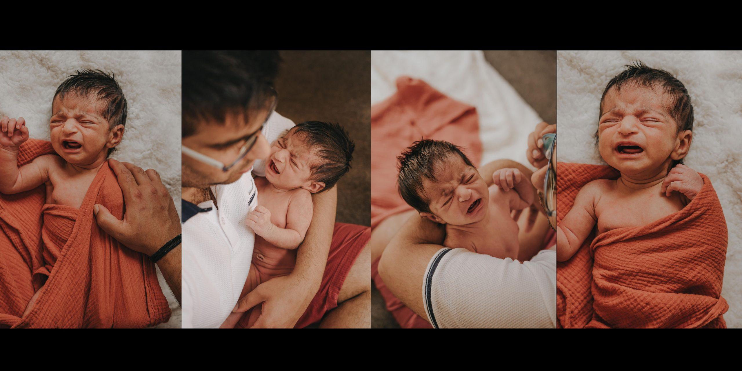 newborn photo shoot Queenstown